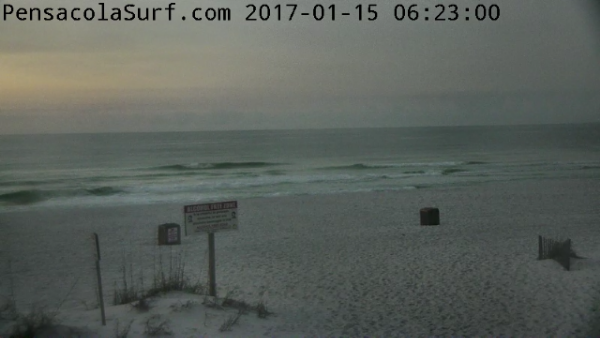 Sunday Sunrise Beach and Surf Report 01/15/17