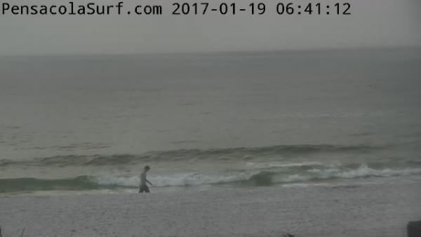 Thursday Sunrise Beach and Surf Report 01/19/17