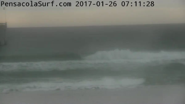Thursday Sunrise Beach and Surf Report 01/26/17