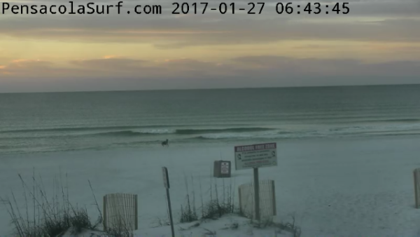 Friday Sunrise Beach and Surf Report 01/27/2016