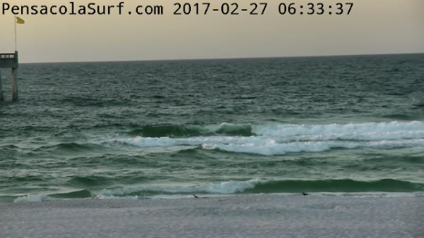 Monday Sunrise Beach and Surf Report 02/27/17