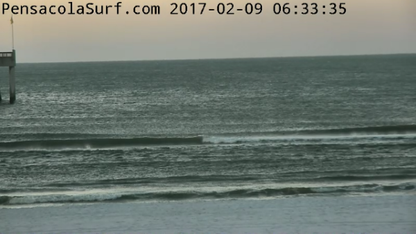 Thursday Sunrise Beach and Surf Report 02/09/2017