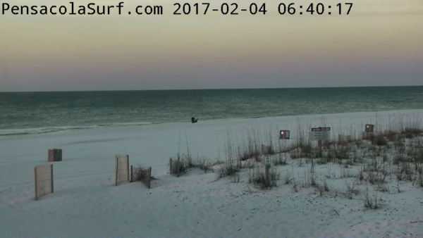 Saturday Sunrise Beach and Surf Report 02/04/2017