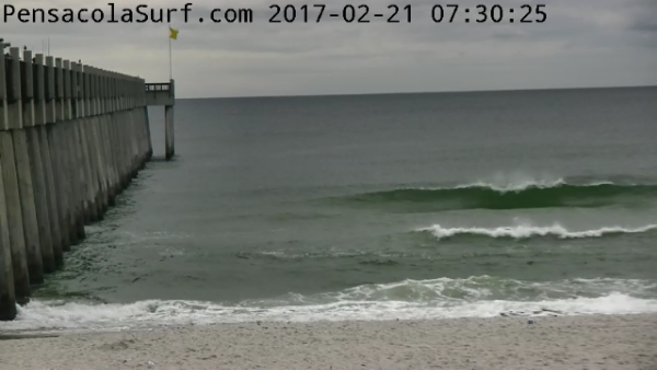Tuesday Sunrise Beach and Surf Report 02/21/17