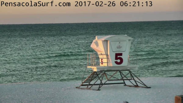 Sunday Sunrise Beach and Surf Report 02/26/17