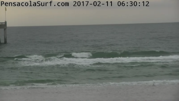 Saturday Sunrise Beach and Surf Report 02/11/2017