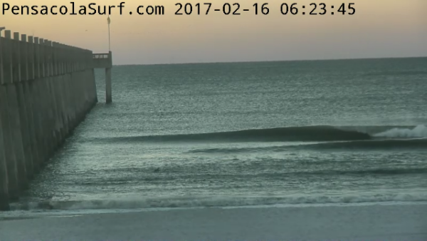 Thursday Sunrise Beach and Surf Report 02/16/2017