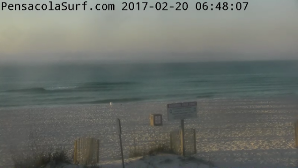 Monday Sunrise Beach and Surf Report 02/20/2017