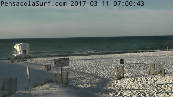 Saturday Sunrise Beach and Surf Report 03/11/17