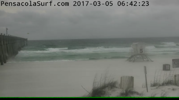 Sunday Sunrise Beach and Surf Report 03/05/2017