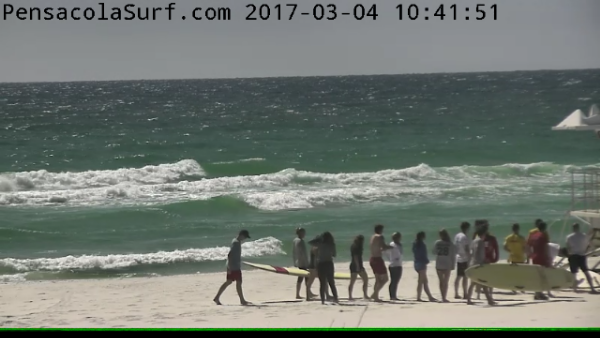 Saturday Midday Beach and Surf Report 03/04/2017