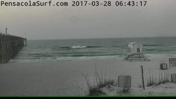Tuesday Sunrise Beach and Surf Report 03/28/2017