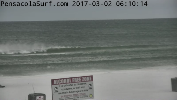 Thursday Sunrise Beach and Surf Report 03/02/17
