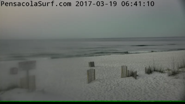 Sunday Sunrise Beach and Surf Report 03/19/2017