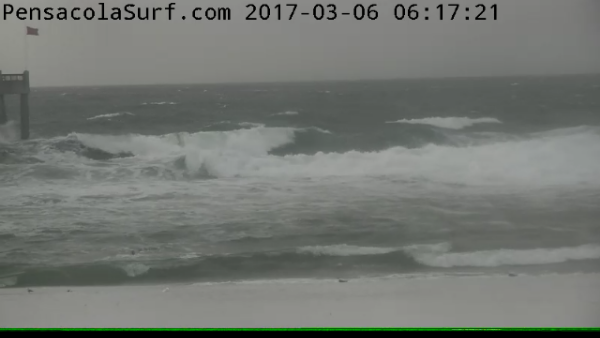 Monday Sunrise Beach and Surf Report 03/06/2017