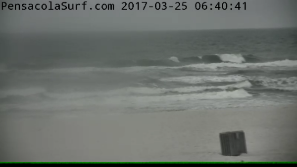 Saturday Sunrise Beach and Surf Report 03/25/2017