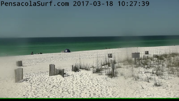 Saturday Morning Beach and Surf Report 03/18/2017
