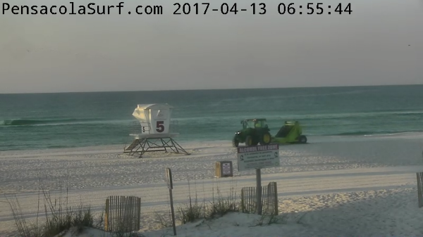 Thursday Sunrise Beach and Surf Report 04/13/17