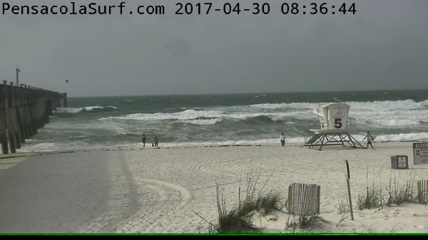 Sunday Sunrise Beach and Surf Report 04/30/2017