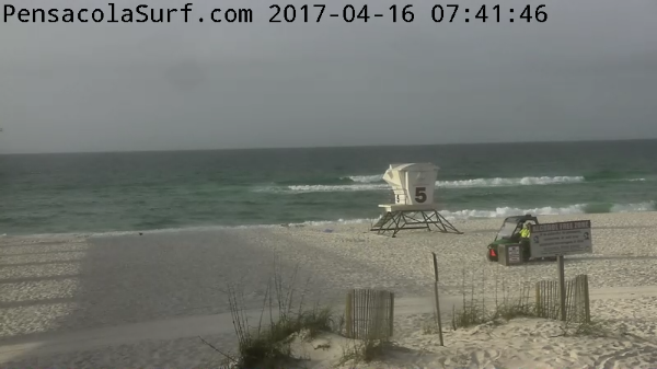 Sunday Sunrise Beach and Surf Report 04/16/17