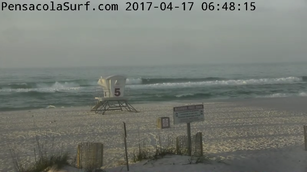 Monday Sunrise Beach and Surf Report 04/17/17