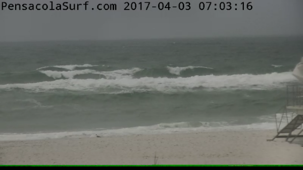 Monday Sunrise Beach and Surf Report 04/03/2017