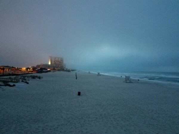 Tuesday Sunrise Beach and Surf Report 04/04/17