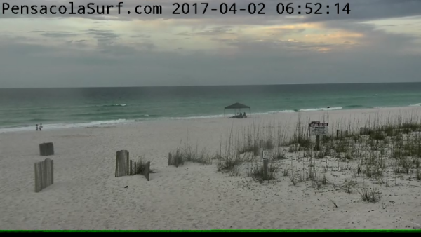 Sunday Sunrise Beach and Surf Report 04/02/2017