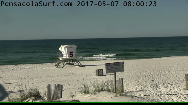 Sunday Sunrise Beach and Surf Report 05/07/2017