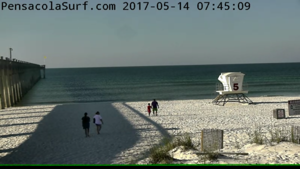 Sunday Sunrise Beach and Surf Report 05/14/2017