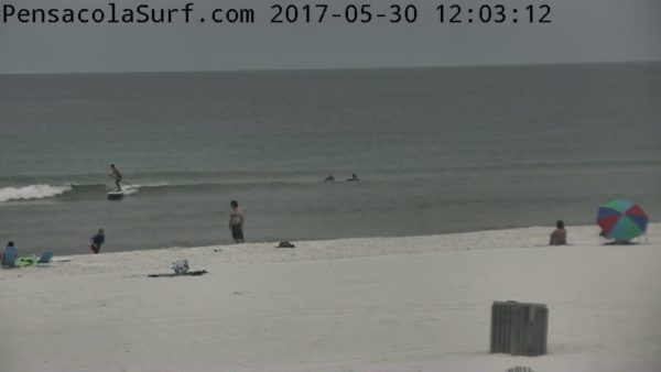 Tuesday Noon Beach and Surf Update 5/30/17