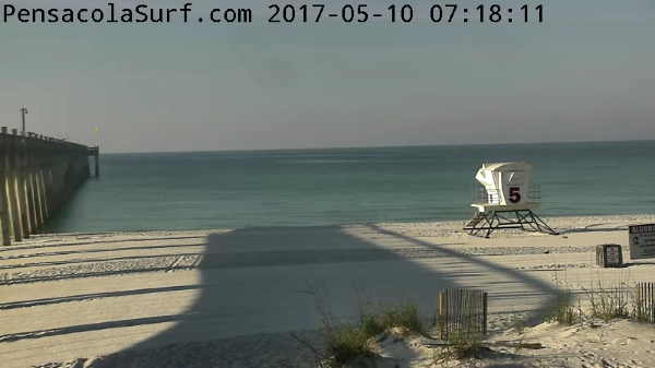 Wednesday Sunrise Beach and Surf Report 05/10/17