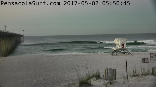 Tuesday Sunrise Beach and Surf Report 05/02/17