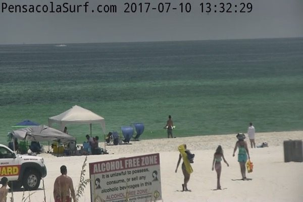 Monday Afternoon Beach and Surf Report 7/10/17