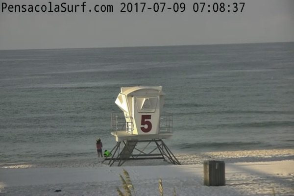 Sunday Morning Beach and Surf Report 7/9/17