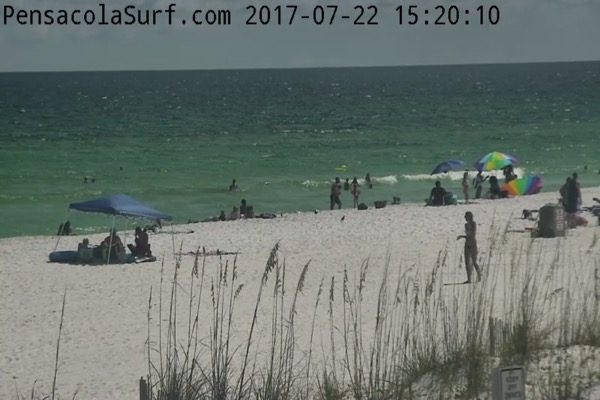 Saturday Afternoon Beach and Surf Report 7/22/17