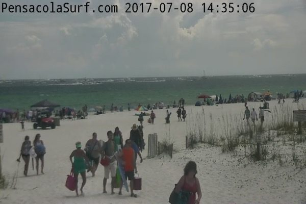 Saturday Afternoon Beach and Surf Report 7/8/17