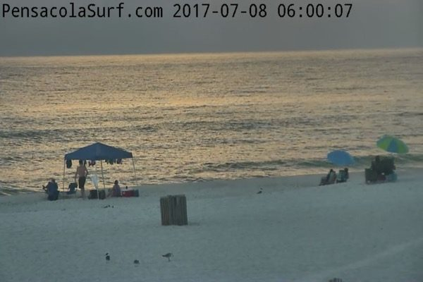 Saturday Morning Beach and Surf Report 7/8/17