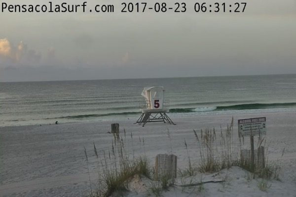 Wednesday Morning Beach and Surf Report 8/23/17