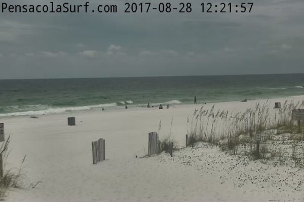 Monday Noon Beach and Surf Report 8/28/17