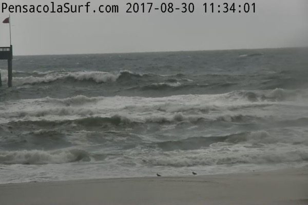 Wednesday Noon Beach and Surf Report 8/30/17