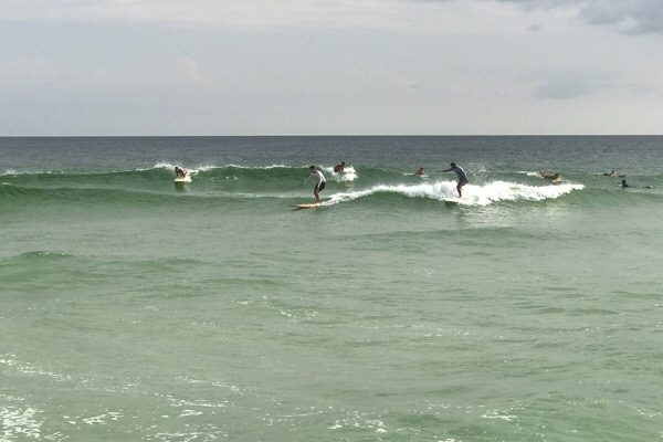 Saturday Evening Beach and Surf Report 8/26/17