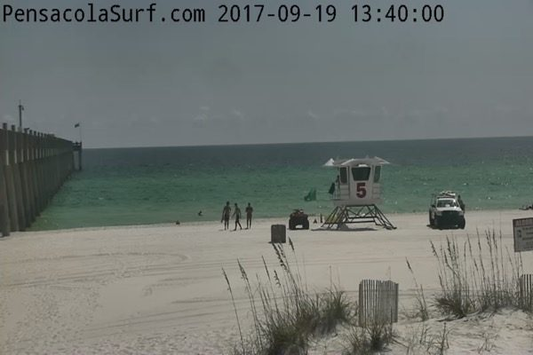 Tuesday Afternoon Beach and Surf Update 9/19/17