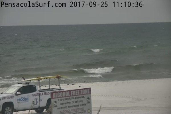 Monday Mid-day Beach and Surf Report 9/25/17