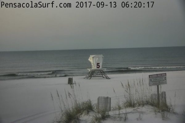 Wednesday Morning Beach and Surf Report 9/13/17