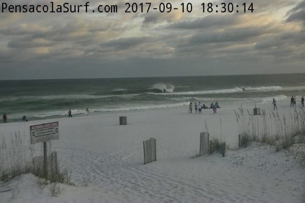Sunday Evening Beach and Surf Report 9/10/17