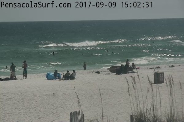 Mid-afternoon Beach and Surf Update 9/9/17