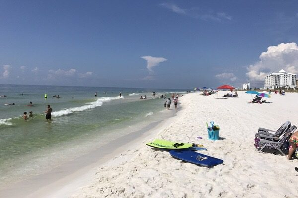 Sunday Mid-day Beach and Surf Update 9/3/17