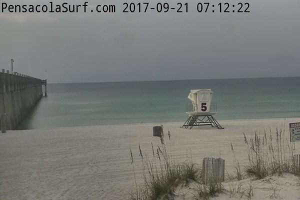 Thursday Morning Beach and Surf Report 9/21/17