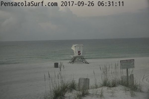 Tuesday Morning Beach and Surf Report 9/26/17
